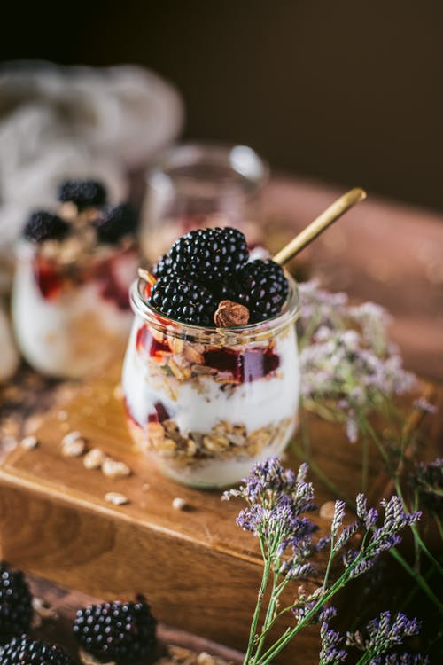 Free stock photo of blackberries, cook, dessert