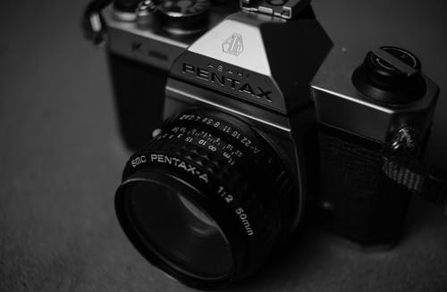 Close-up Photo of an Analog Camera