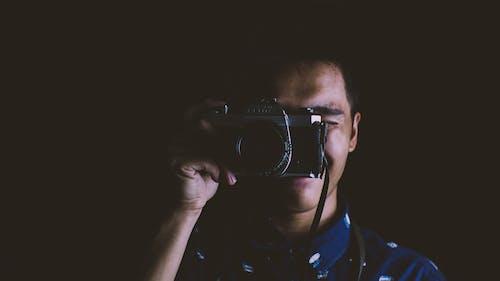 Kostnadsfri bild av analog, avståndsmätare, film