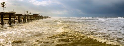 Free stock photo of bad weather, mediterranean sea, sea