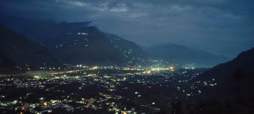 Free stock photo of downtown, mountains, nightlife