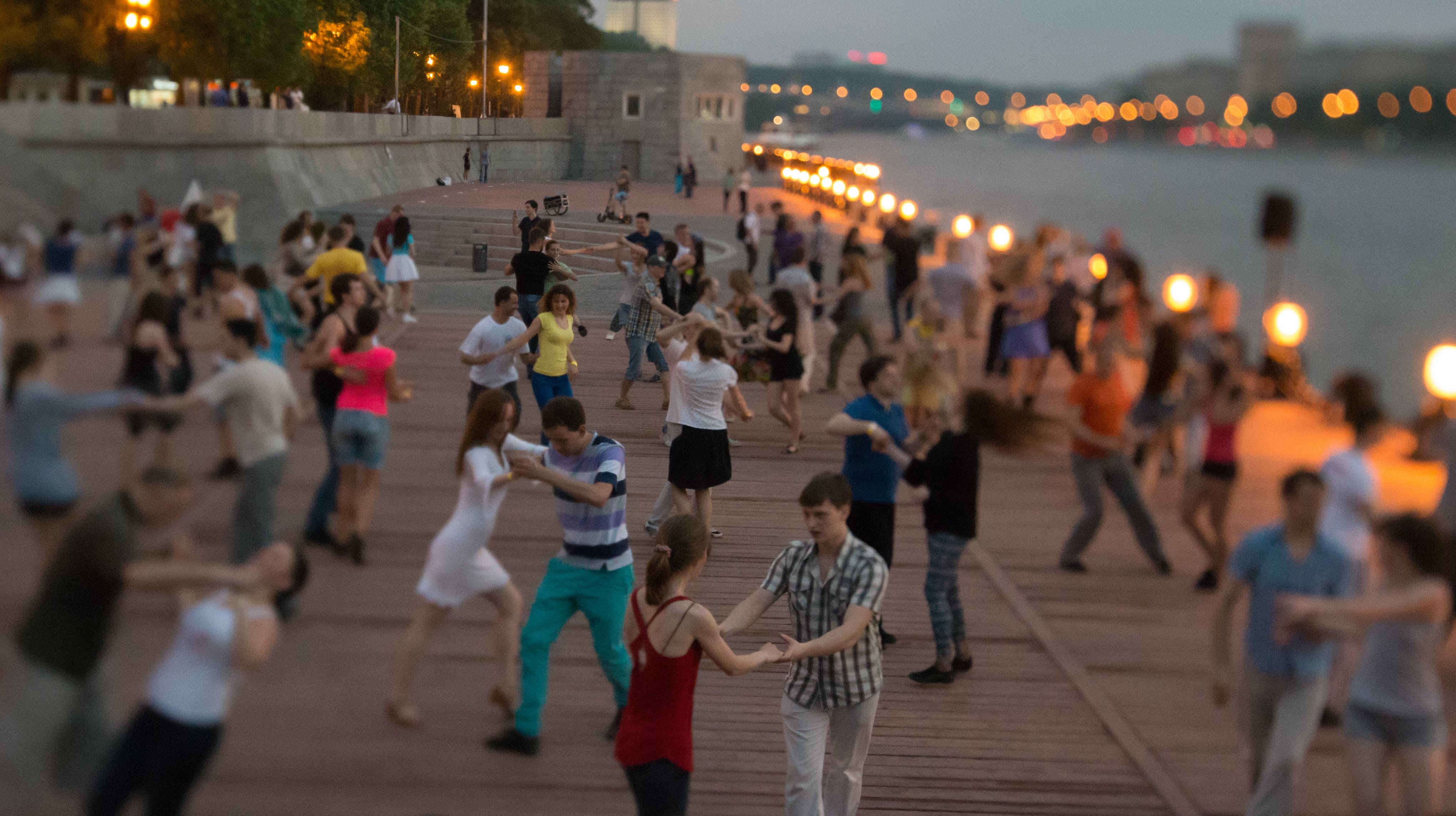 Free stock photo of dancing, evening, moscow, people