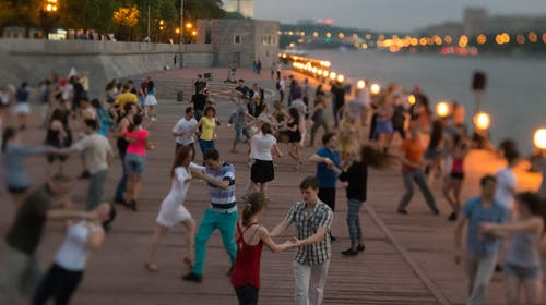 Free stock photo of dancing, evening, moscow