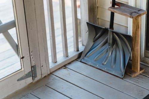 Бесплатное стоковое фото с веранда, вход, высокий угол
