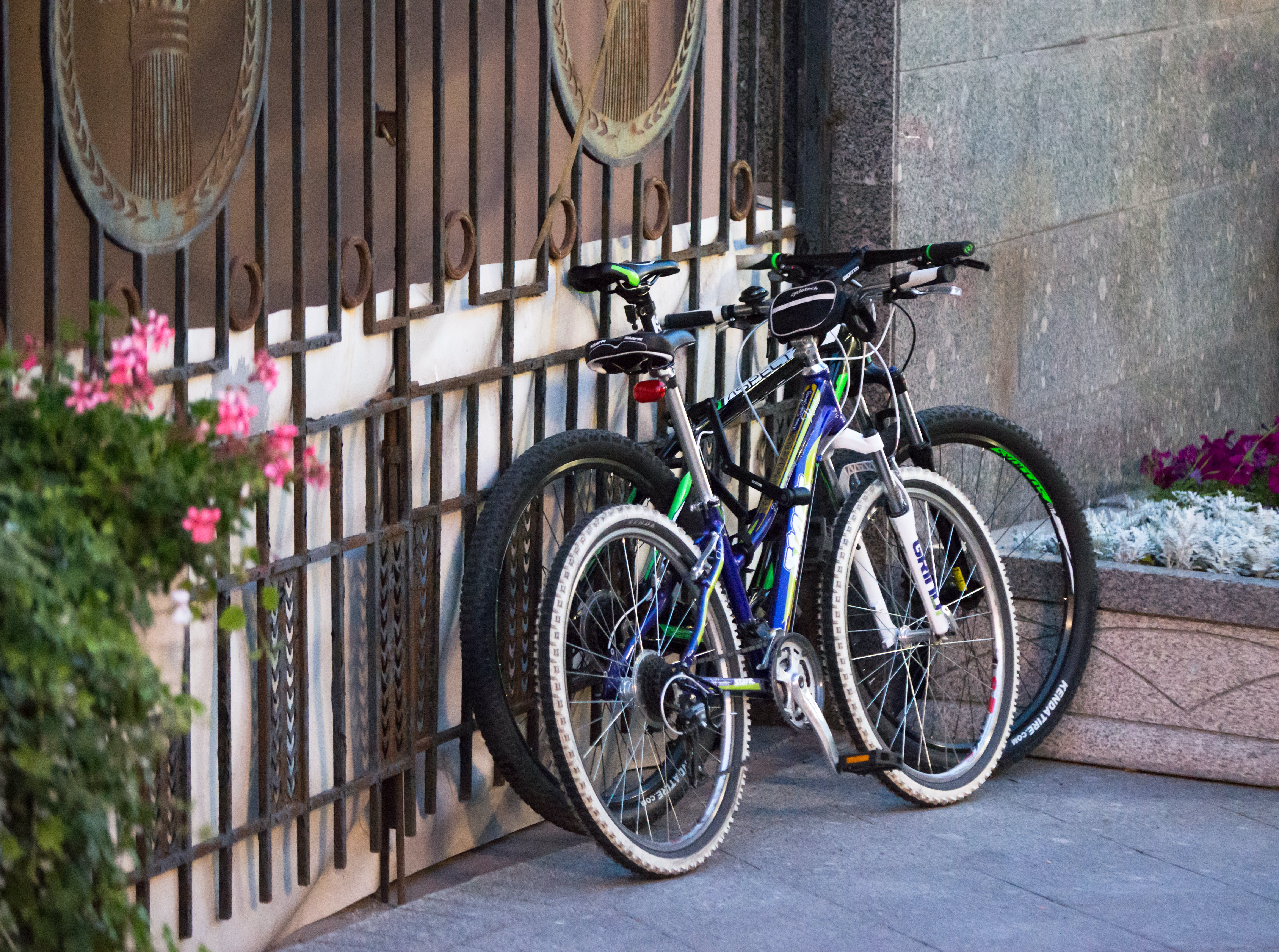 Free stock photo of bicycles, city life, sports, street