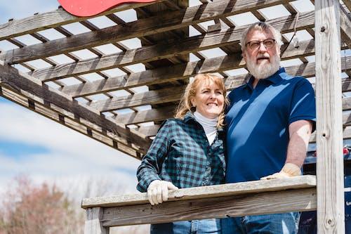 Imagine de stoc gratuită din bătrân, caucazian, cuplu