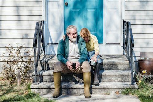 Imagine de stoc gratuită din adulți, afecțiune, bătrân