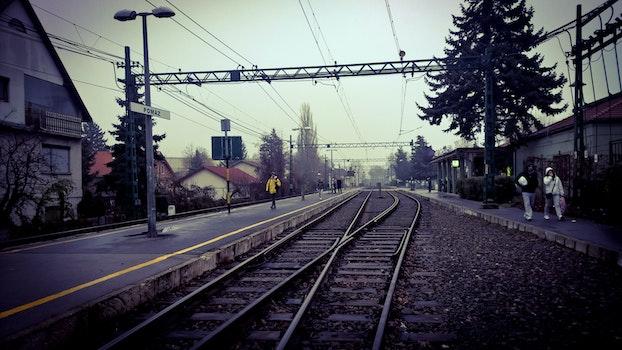Free stock photo of railway, hungary