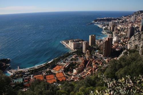 Free stock photo of monte carlo coastline