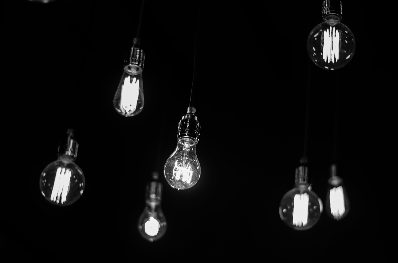 Free stock photo of light, bw, minimalism, mono