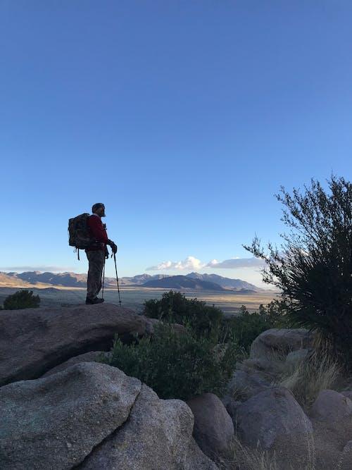 Kostenloses Stock Foto zu aussicht, bergwandern, wüstenblick