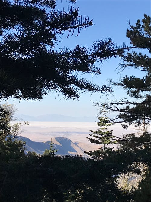 Kostenloses Stock Foto zu aussicht, bergwandern, new-mexiko, sacramento-berge