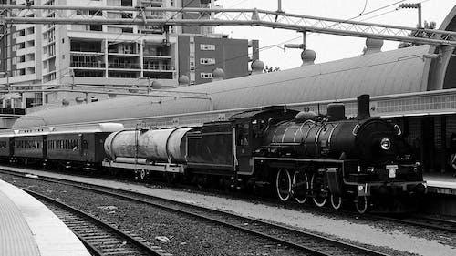 Kostnadsfri bild av bana, fordon, frakt, järnväg