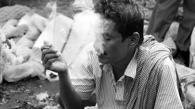 Free stock photo of white, black, market, smoke
