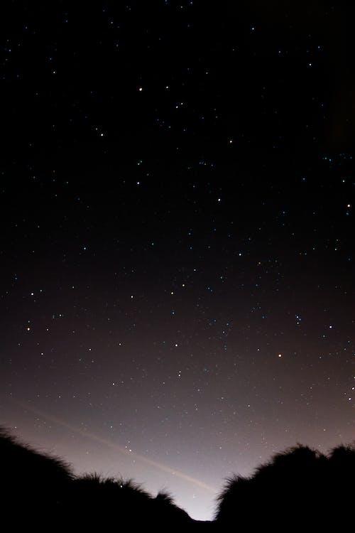 Kostenloses Stock Foto zu dunkel, nacht, sterne