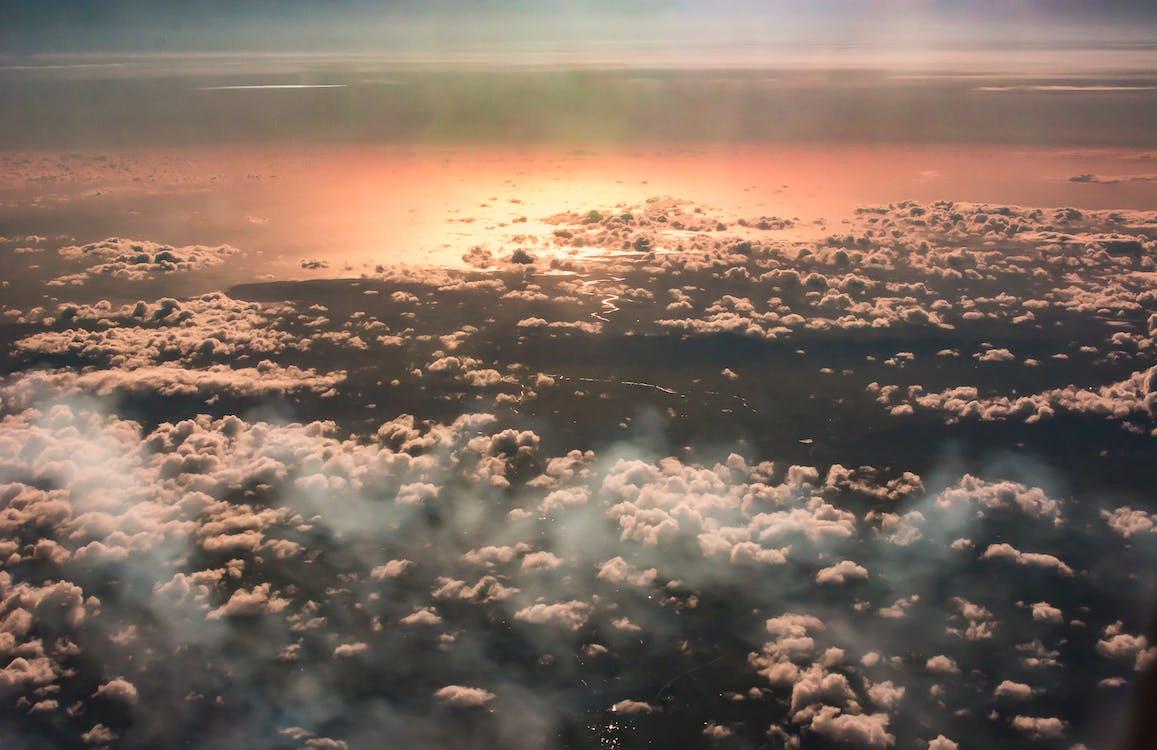 bewolking, cloudscape, dageraad