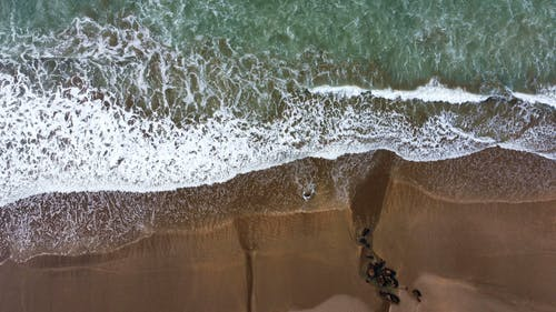 Free stock photo of beach, beautiful, drone photography