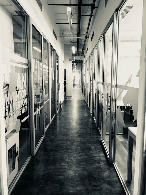 Ingyenes stockfotó belső, fekete kávé, folyosó, hivatal témában