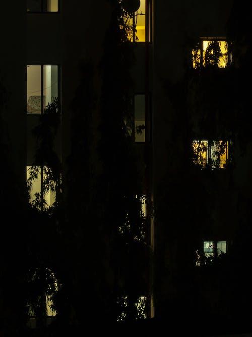 Gratis lagerfoto af nattefotografering, Urban, urban nætter