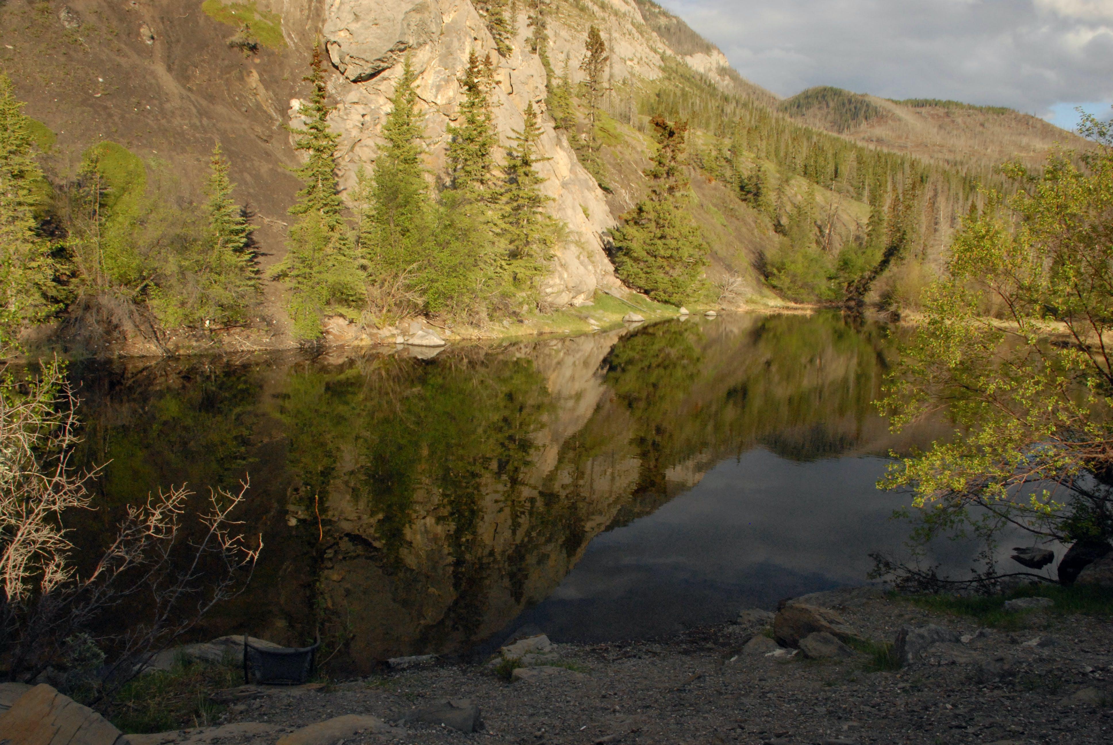 Free stock photo of jasper national park, mountain reflection, water