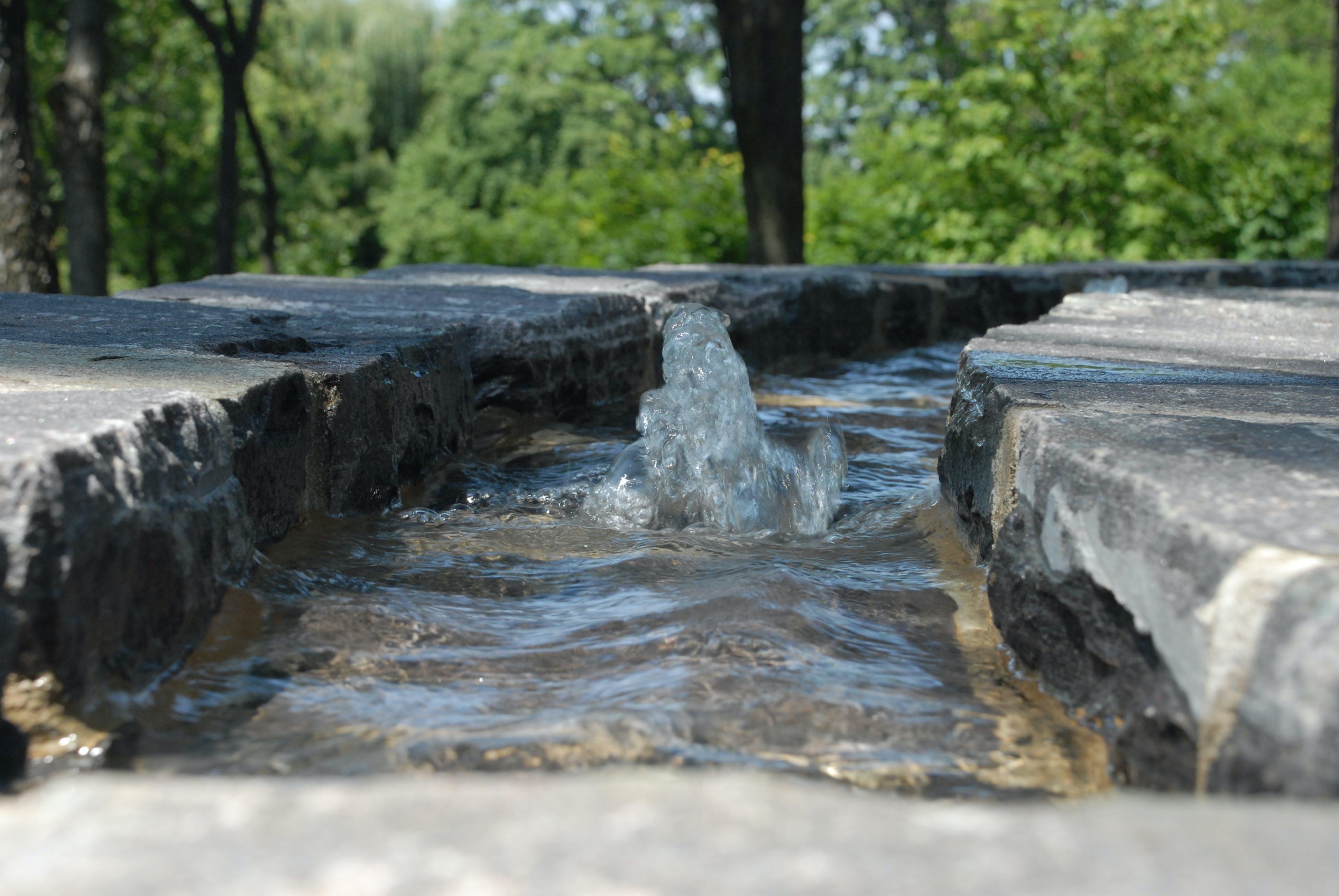 Free stock photo of bubble, fountain, park, stone
