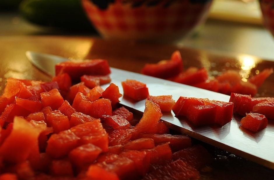 bell pepper, capsicum, chef