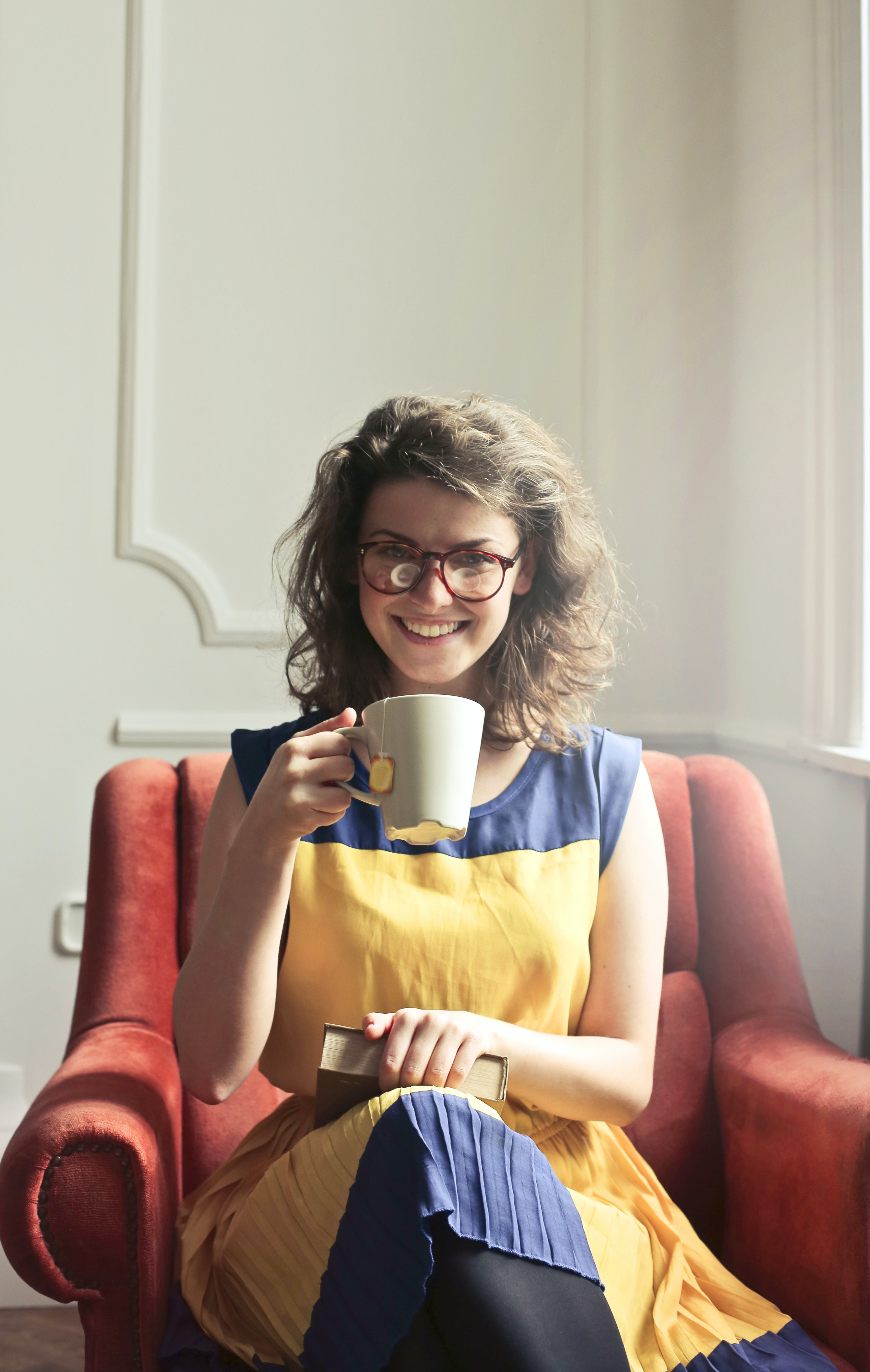 Free stock photo of person, woman, cup, girl