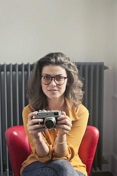 Free stock photo of fashion, person, woman, camera