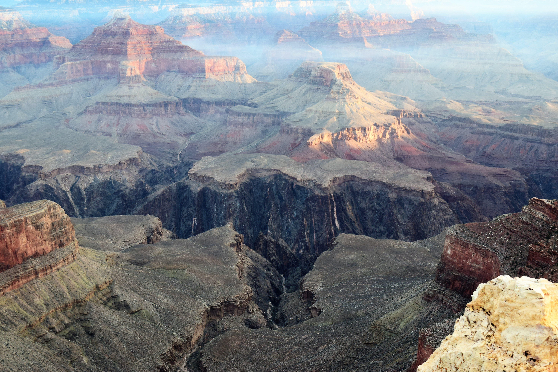 Kostenloses Stock Foto zu berg, canyon, erosion, felsiger berg