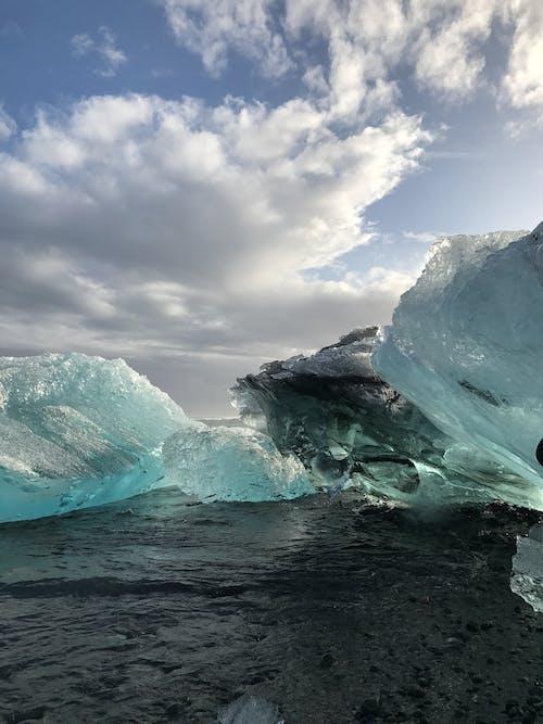 Icebergs on Water