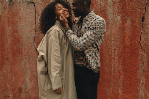 Ingyenes stockfotó afro-amerikai házaspár, álló kép, arckifejezés témában
