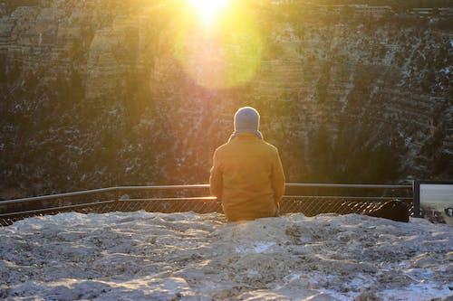 Бесплатное стоковое фото с большой каньон, восход, луч солнца, утреннее солнце