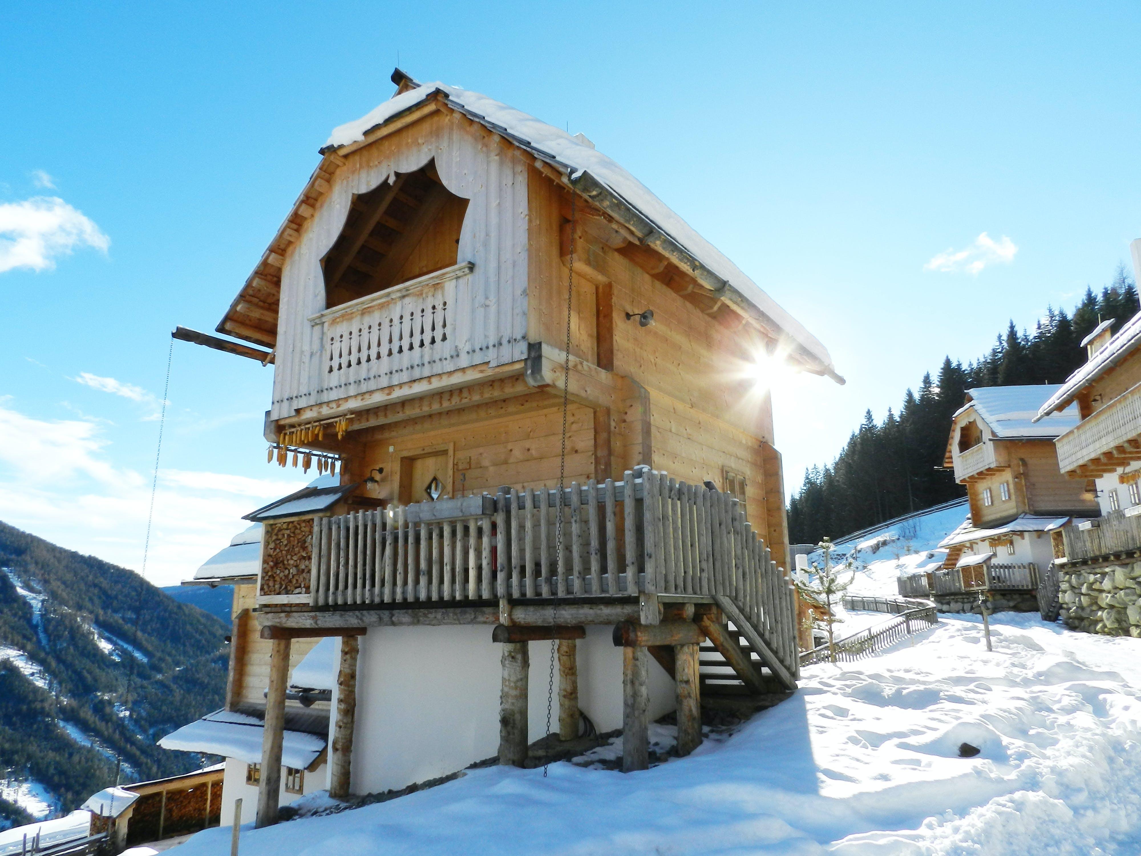 Kostenloses Stock Foto zu architektur, badeort, berg, chalet