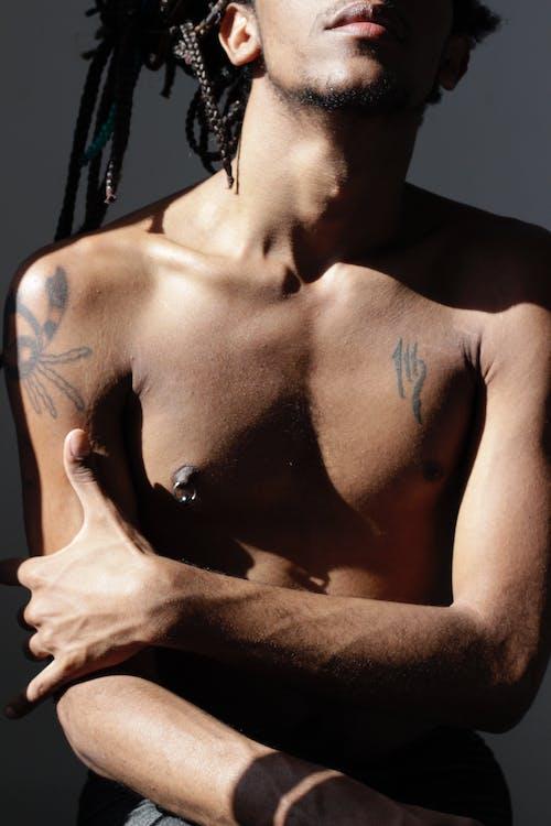 คลังภาพถ่ายฟรี ของ ชายชาวแอฟริกันอเมริกัน, ชายผิวดำ, ทรงผม