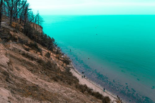 Free stock photo of beach, black forest, blue
