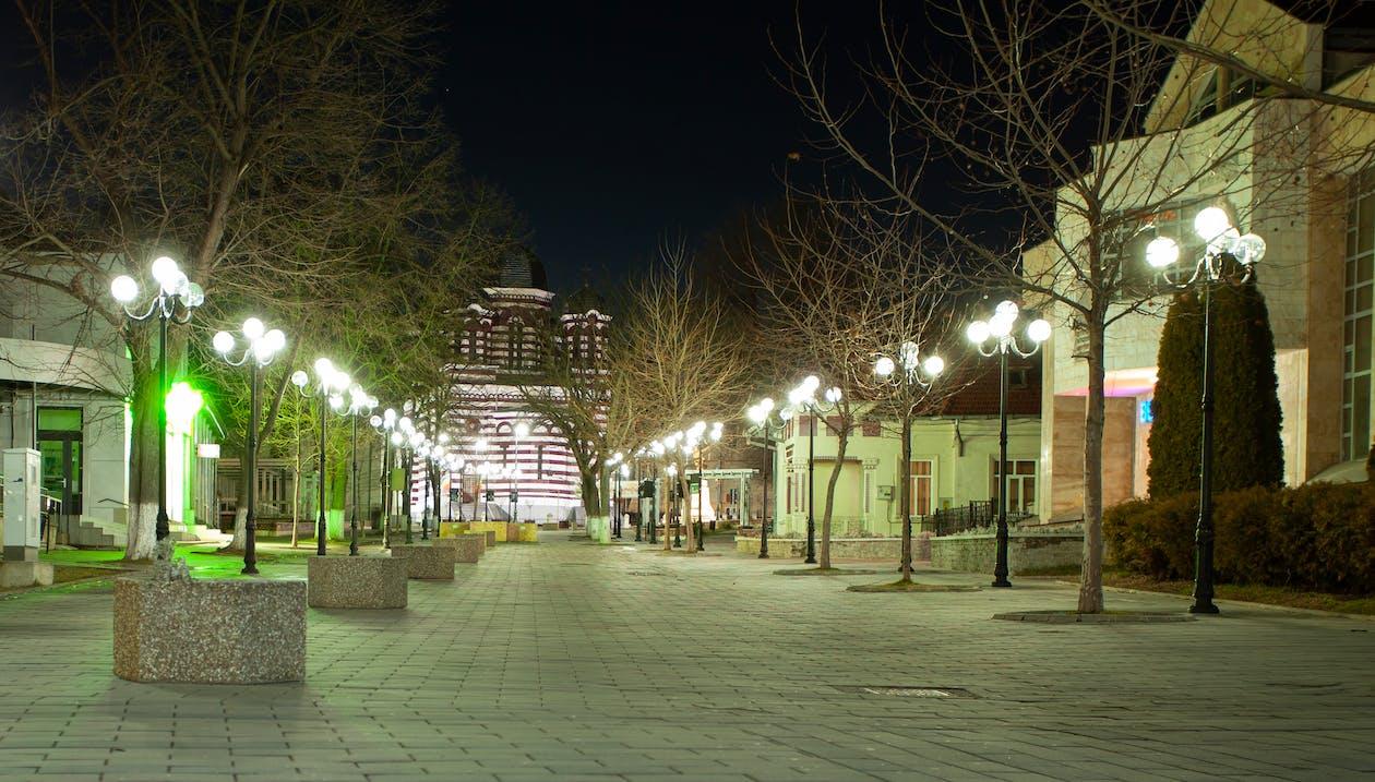 Free stock photo of alextara, church, city at night
