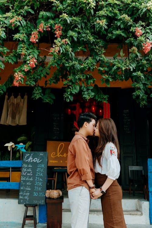 kiss, アジアカップル, アモーレの無料の写真素材