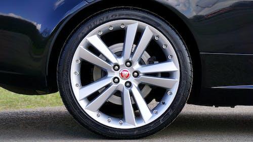 Jaguar Tire Rim with Logo