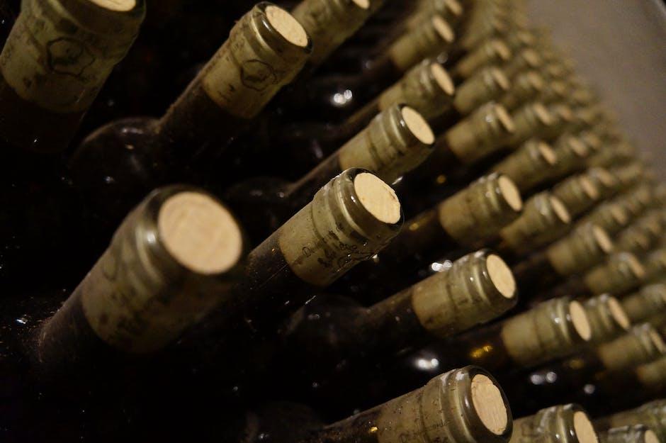 Corks In Bottles