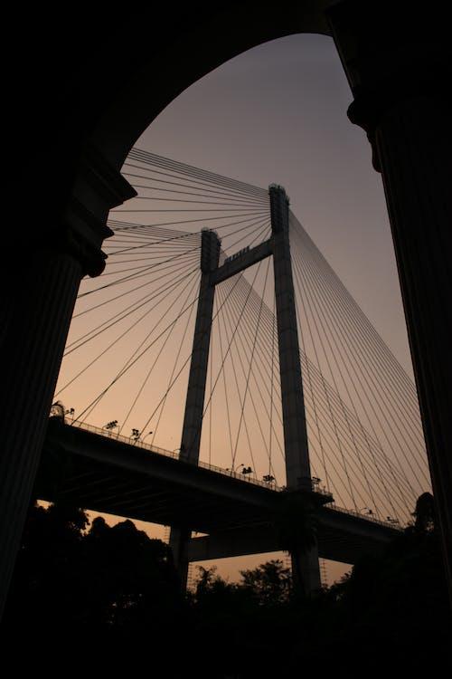 Ảnh lưu trữ miễn phí về Ấn Độ, bờ sông, cầu hooghly thứ hai