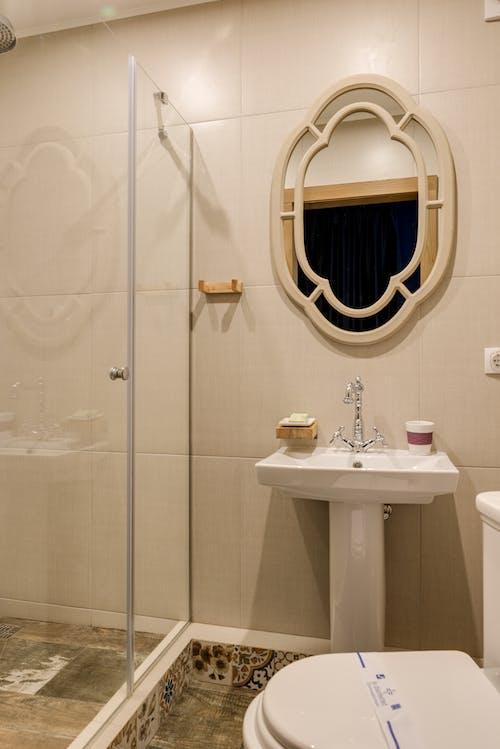 Kostenloses Stock Foto zu badezimmer, drinnen, dusche
