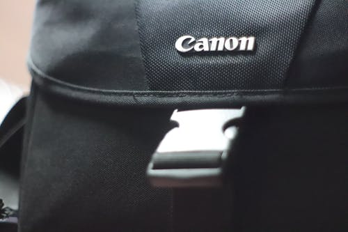 Free stock photo of camera bag, canon