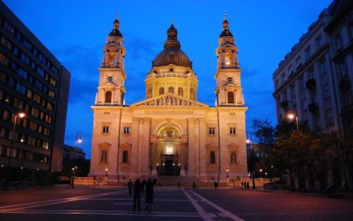 Ảnh lưu trữ miễn phí về Budapest, các tòa nhà, đêm, đường phố