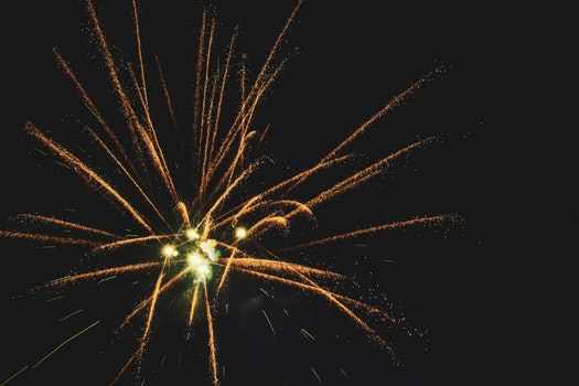 Photography of Fireworks During Night Time