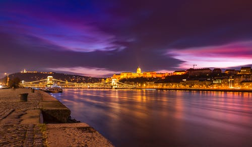 Бесплатное стоковое фото с архитектура, Будапешт, вечер, вода