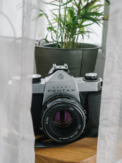 Free stock photo of analog, analog camera, vintage camera