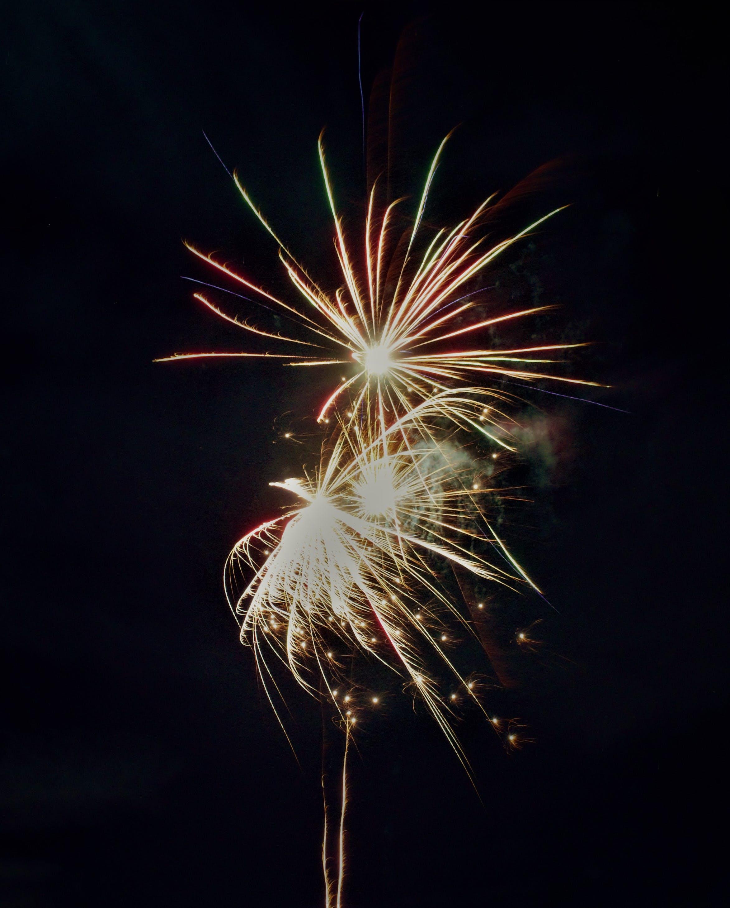Free stock photo of firework, sylvester