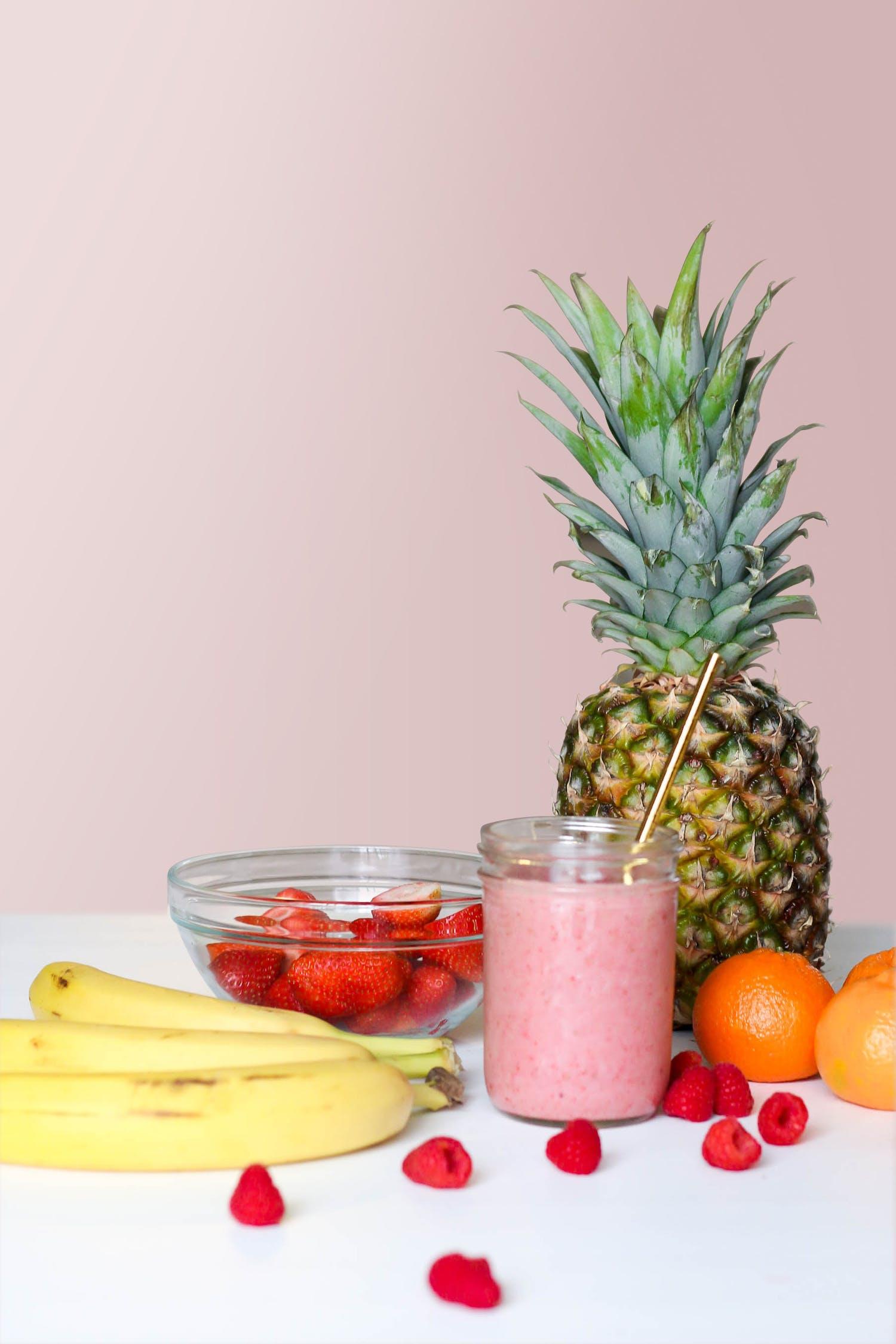 Get you Custom Keto Meal Plan 2021 - Strawberry Smoothie On Glass Jar