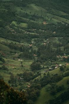 Village Areal Photo
