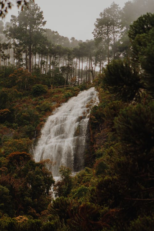 Natures Photography of Waterfalls